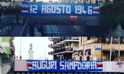 Chiavari si colora di blucerchiato per i 75 anni della Sampdoria
