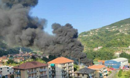 Incendio a Caperana