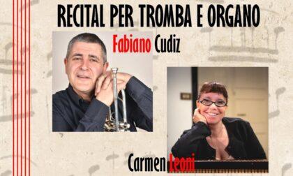 Recital per tromba e organo, Cudiz e Leoni in concerto