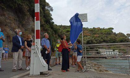 Da oggi la passerella sul mare porta il nome del campione di canottaggio Fazzini