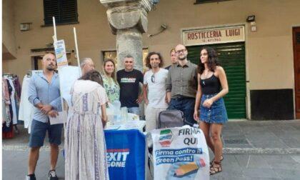 """Italexit: """"Grazie per il sostegno alla campagna No Green Pass"""""""