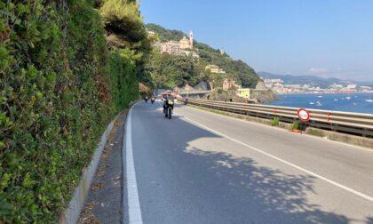 Infrastrutture: riaperta a doppio senso di marcia la statale Aurelia a Vesima