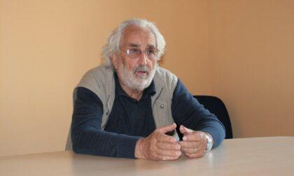 Lavagna in lutto per la morte dell'Ing. Francesco Traldi
