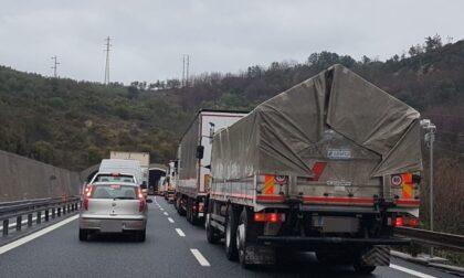 Autostrade: tratto chiuso tra Sestri Levante e Lavagna