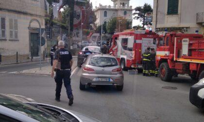 Bloccata Piazza Podestà a Lavagna