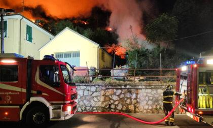 """Incendio di Bargonasco, Muzio: """"Fondamentale il nuovo idrante"""""""