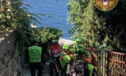 Donna si ferisce in Loc. S Nicolo' Punta Chiappa: interviene il soccorso Alpino