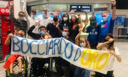 Dopo i due ori alle Paralimpiadi Bocciardo torna a Genova