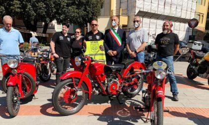 Zoagli accoglie una delegazione del Motoclub Guzzi di Genova