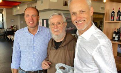 Frate da 60 anni, autorità e tanti amici alla festa per padre Lorenzo