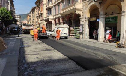 Continua il rifacimento del manto stradale a Chiavari, asfalti per 250mila euro
