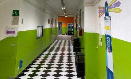 Illuminazione all'avanguardia nella scuola di via Massone
