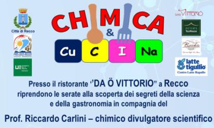 """Torna """"Chimica e Cucina"""", la rassegna gastronomica """"a colori"""""""