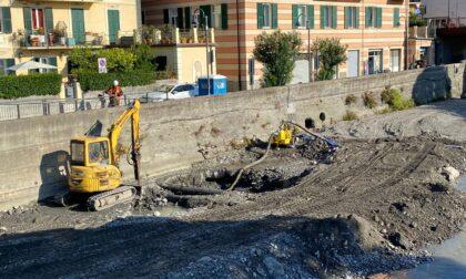 Recco - Avviati i lavori per fermare l'erosione del litorale