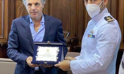 Rapallo saluta il Luogotenente Vincenzo Orlando