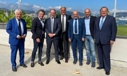 Forza Italia, il sindaco di Rapallo incontra il sottosegretario Mulè