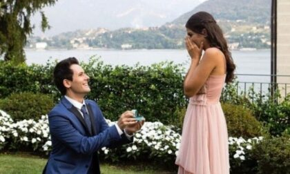 I Me Contro Te si sposano: la proposta di matrimonio sul Lago di Como