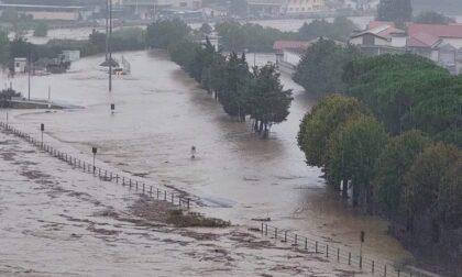Temporali autorigeneranti: esonda il Bormida, inondata Cairo Montenotte