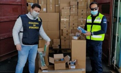 Sequestrati oltre 330 mila dispositivi medici