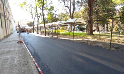 Riqualificazione e asfaltatura parcheggio attiguo al seminario di piazza N.S Dell'Orto