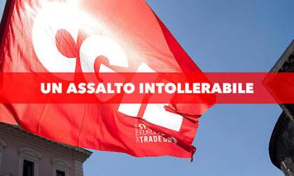 Assalto alla Cgil a Roma. La solidarietà della Uil