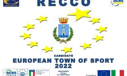 Recco Comune Europeo dello Sport 2022